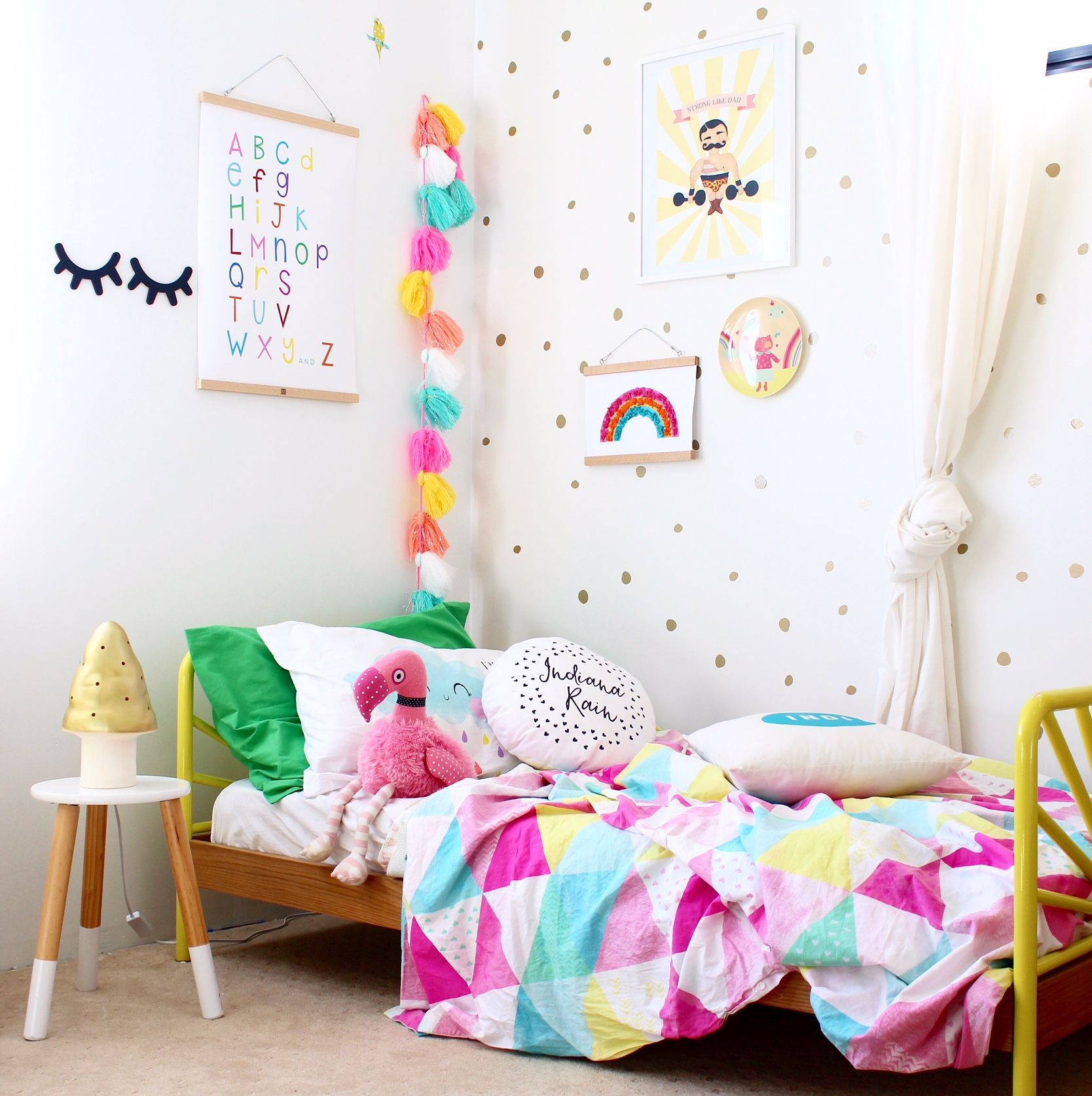 Boy Bedroom Paint Bedroom Canvas Wall Art Girls Bedroom Decor Ideas Modern Kids Bedroom Ceiling Designs: Rainbow Alphabet Chart