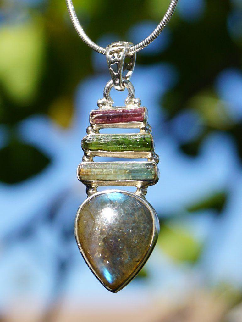 météorite Moldavite Prasiolite 925-Argent Vintage Handmade Ring Jewelry