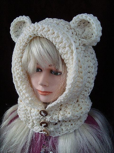 toddler knitted hat pattern free hood