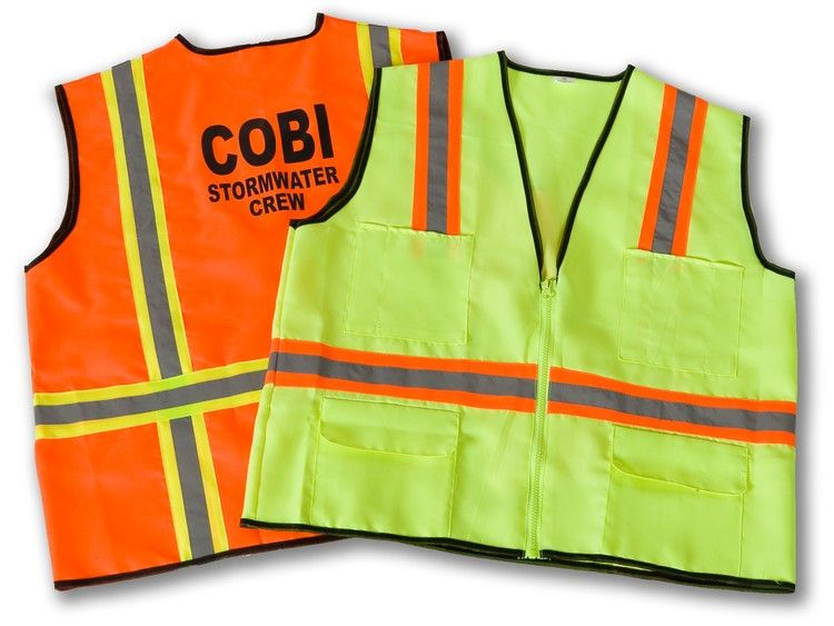 Construction deluxe safety vest safety vest vest