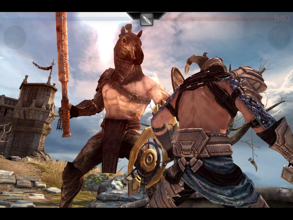 Love this enemy from Infinity Blade I | Infinity Blade
