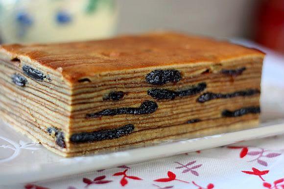 Japanese Layered Cake Recipe: Prune Kueh Lapis Spekkoek (Indonesian Prune Layer Cake