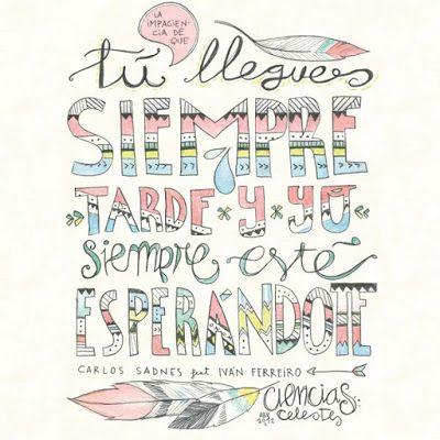 Carlos Sadness Música E Ilustración Ivan Ferreiro Letras Indie Letras De Canciones