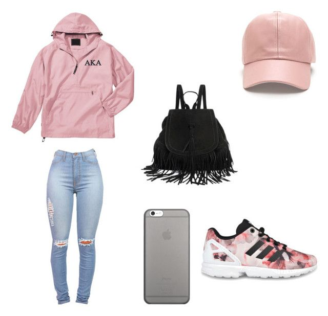 """Going to the Mall"" by jadesierra10 ❤ liked on Polyvore featuring adidas Originals and Native Union"