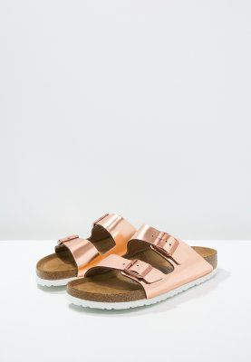 Birkenstock ARIZONA Pantolette flach metallic copper