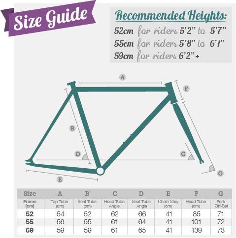 bike frame sizes - Google Search | Bike Nerd | Pinterest ...