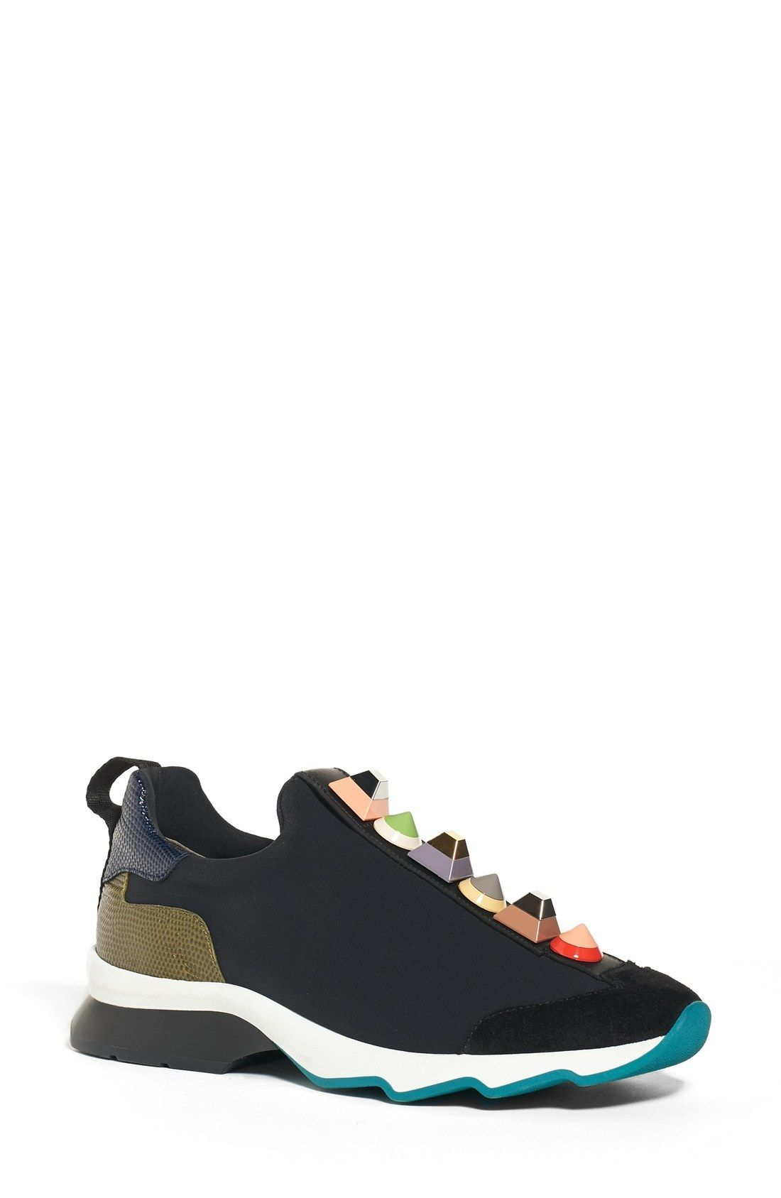 5a158c3a300d Fendi Rainbow Studded Sneaker (Women) available at  Nordstrom