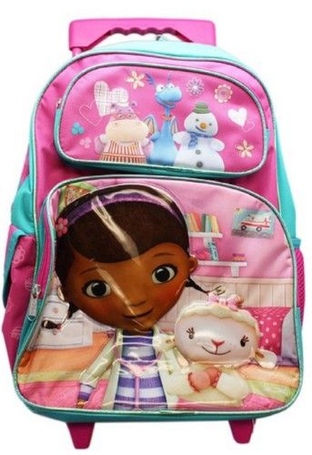 Doc McStuffins Large 16. Rolling BackpackCyber MondayBackpack With Wheels BackpacksLogoCoupon SpreadsheetCoupon LingoDiscount ... 1da1d642b5d70