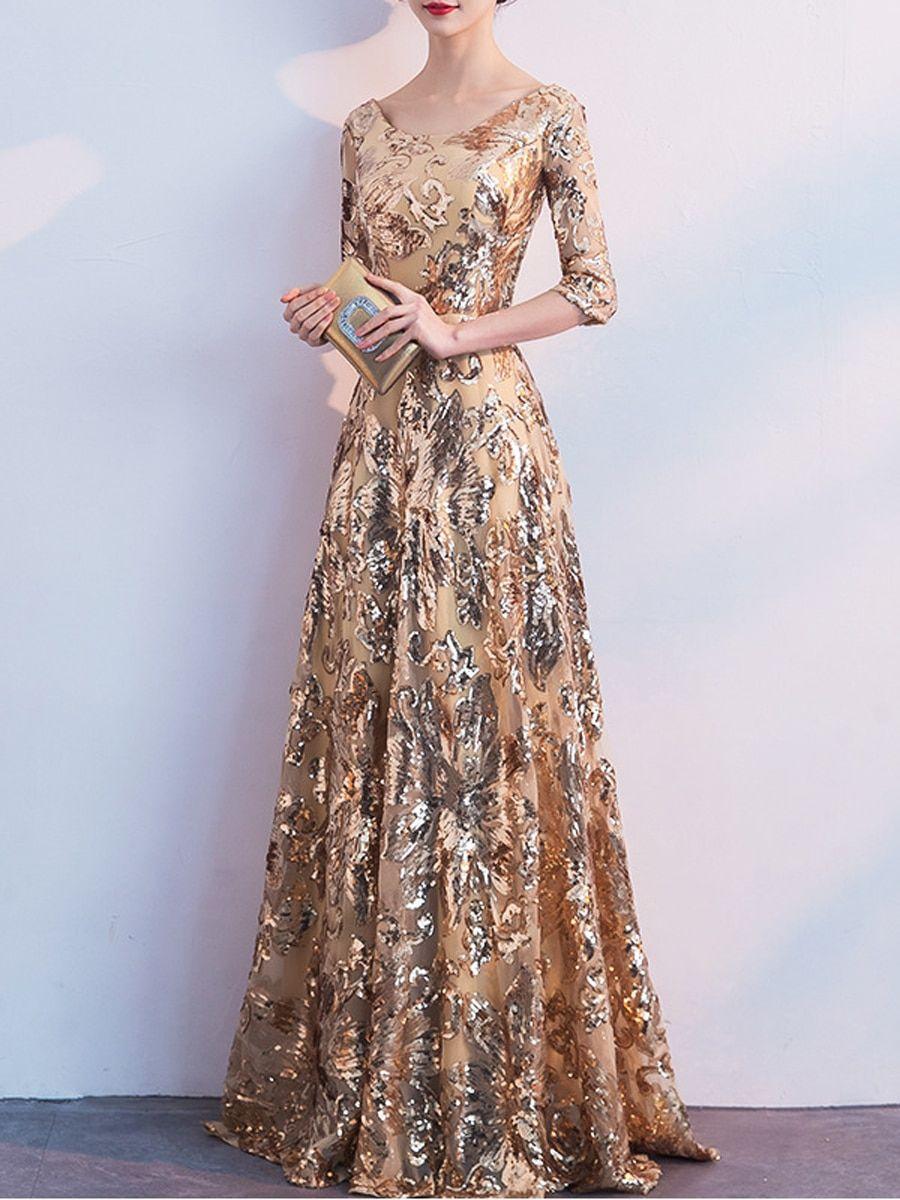 Buy Women s Plus Size Full Dress Elegance Design Charming Maxi Long Dress    Wedding Dresses - at Jolly Chic 679c2820a