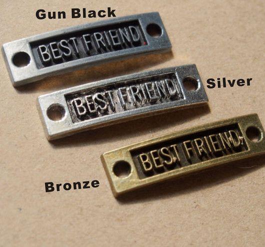 Letters Word Of Best Friend Pendants  Best Friends