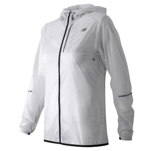 b0ef4bcf714ad New Balance 61226 Women's Lite Packable Jacket - White (WJ61226WT ...