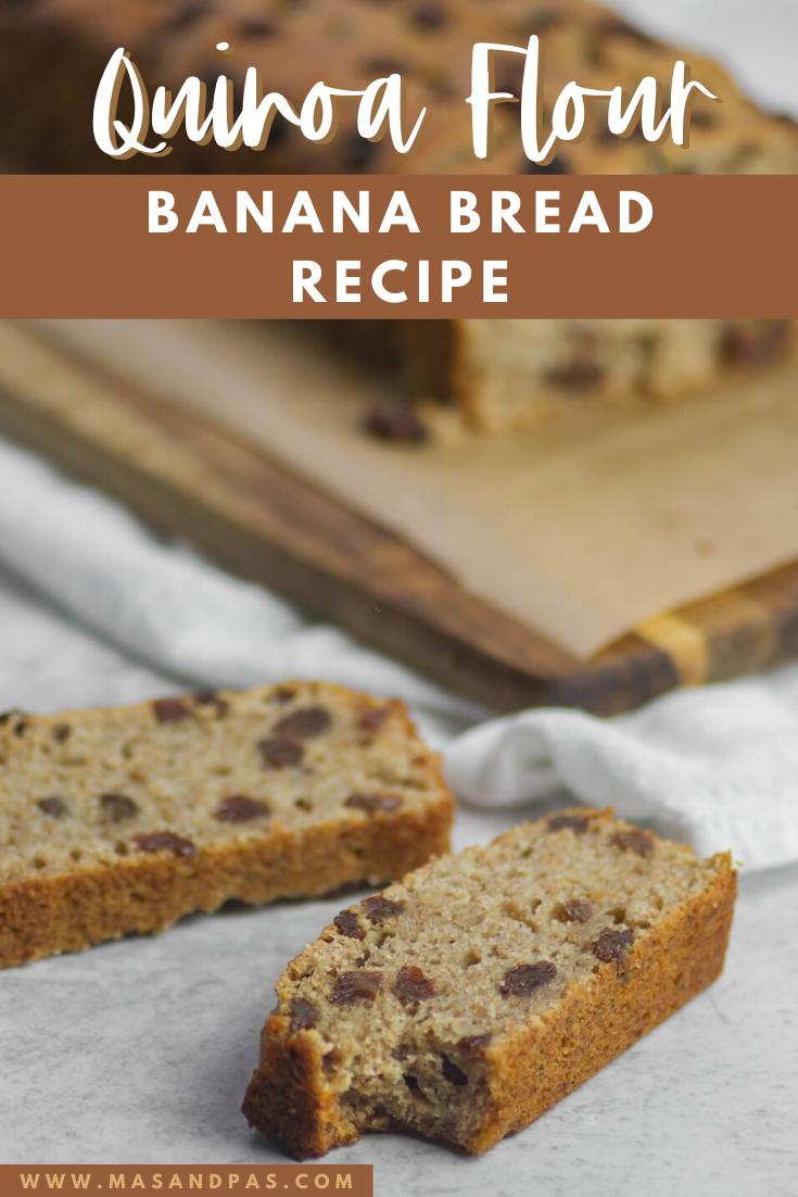 Quinoa Flour Banana Bread Recipe Delicious Banana Bread Recipe Baking Recipes For Kids Banana Bread Recipes