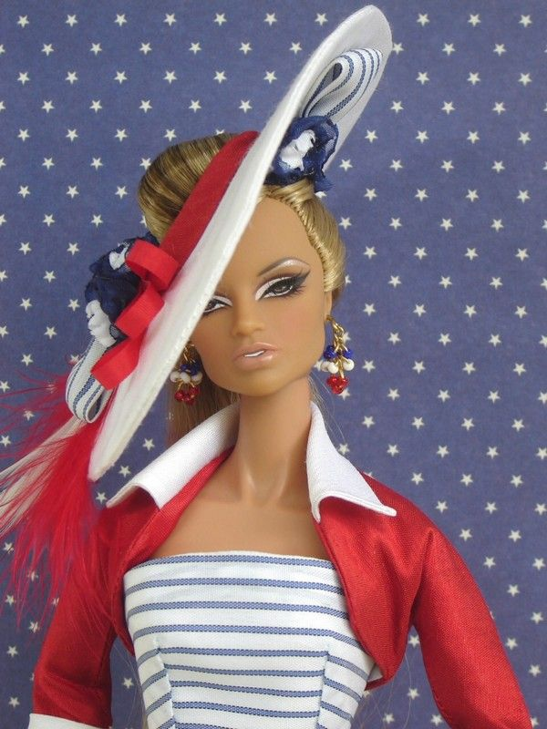 4th of July OOAK Fashion for Silkstone/Fashion Royalty by Joby Originals