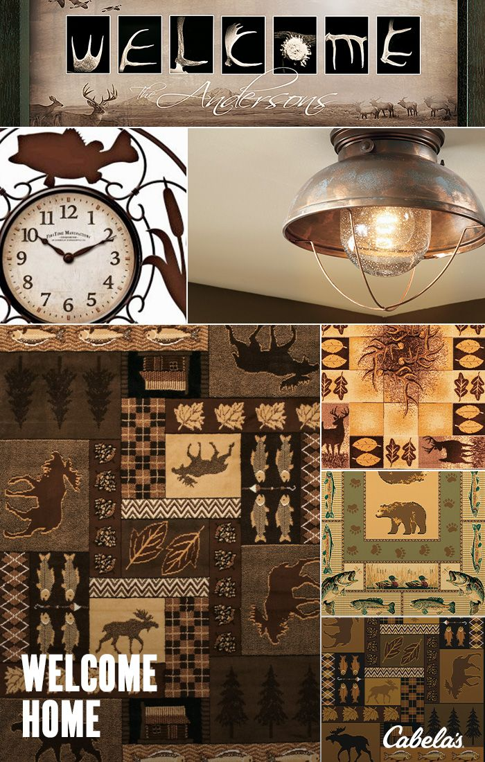 Bring The Great Outdoors To You With Cabelas Home Cabin Decor