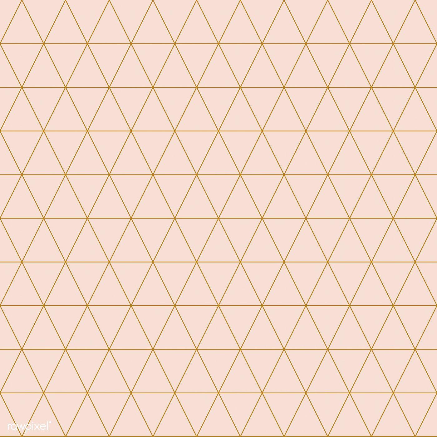 Download Premium Vector Of Simple Triangular Pattern Vector