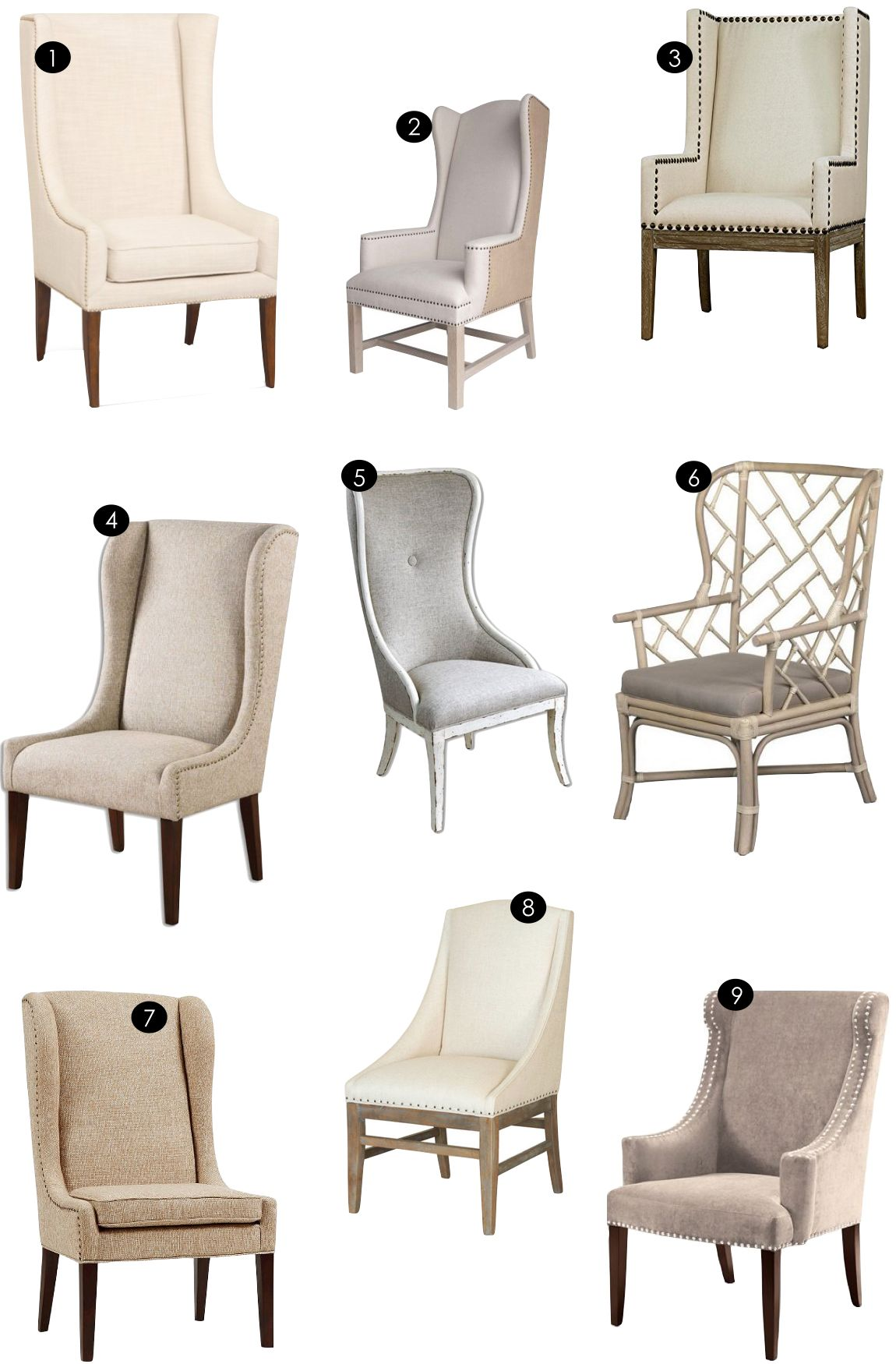 Host + Hostess Chairs | Kikiu0027s List. Are Any Available Without The Nailhead  ...