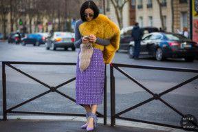 STYLE DU MONDE / Paris Fashion Week FW 2016 Street Style: Yoyo Cao  // #Fashion, #FashionBlog, #FashionBlogger, #Ootd, #OutfitOfTheDay, #StreetStyle, #Style
