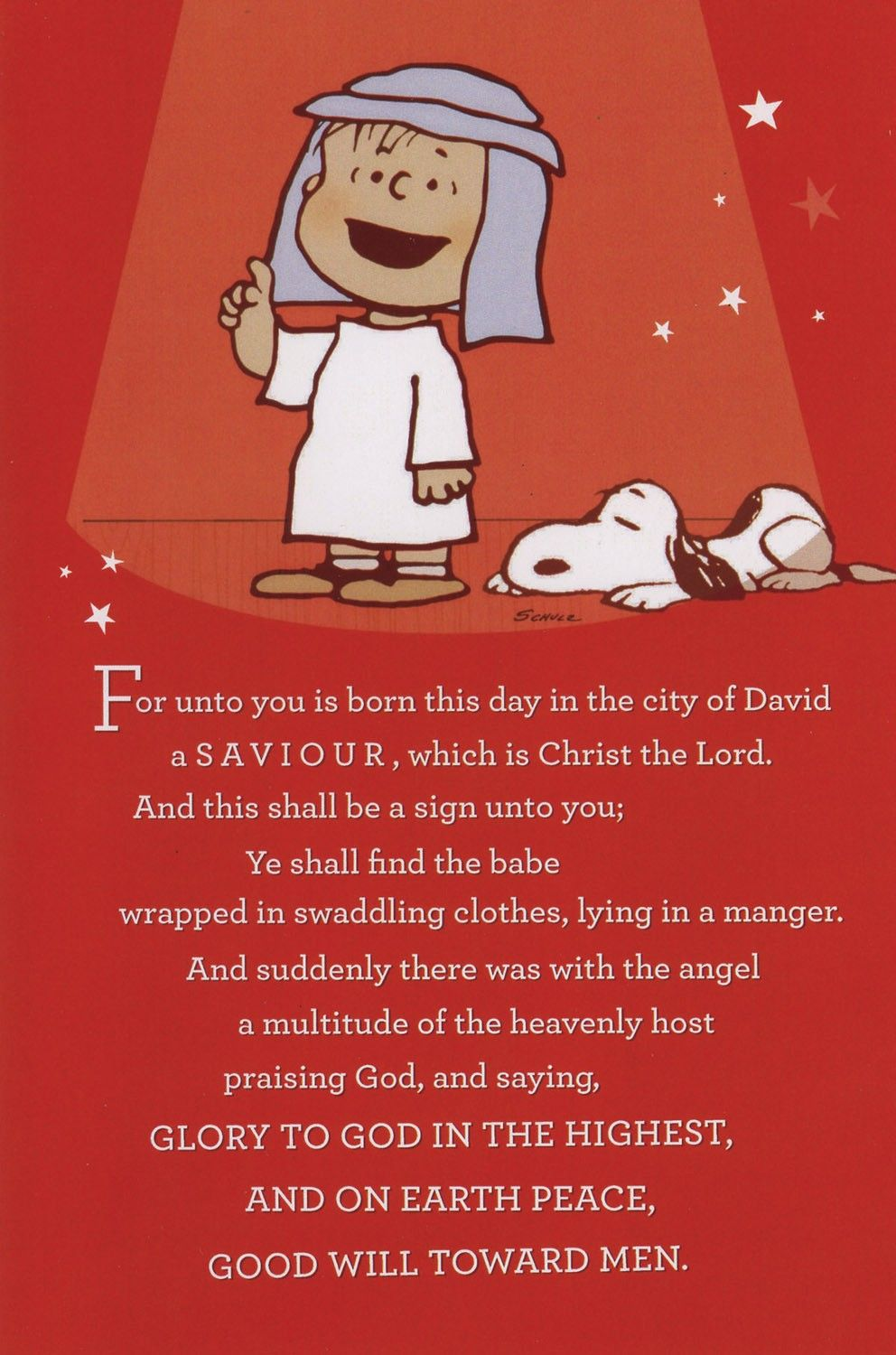 What Christmas Means Peanuts Boxed Cards FamilyChristiancom ...