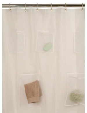 Shower Curtain Liner With Pockets Can T Decide If I Like Or Not