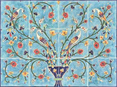 Google image result for for Art deco tile mural