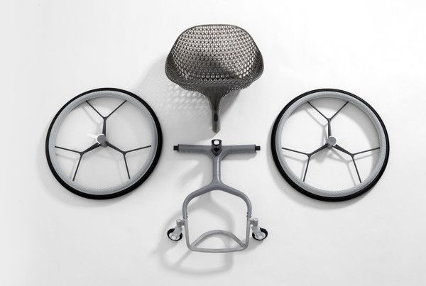 LayerLAB's 3Dprinted GO Wheelchair Layers design