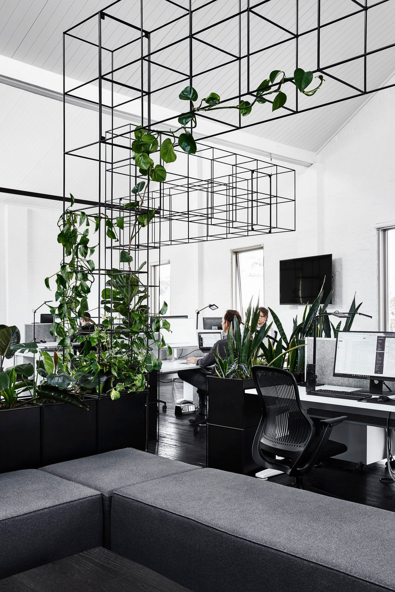 Transform Your Office Into An Inspiring Environment With Delightful Mid Century