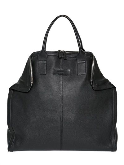 Alexander Mcqueen Demanta Leather Tote Bag