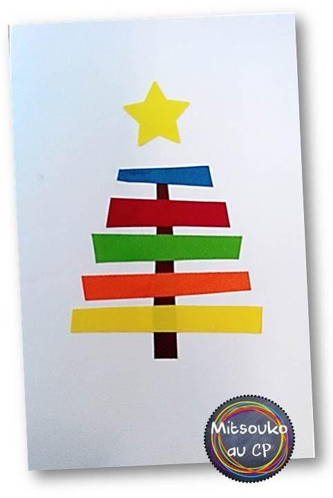 carte de noel cp Des cartes de vœux à faire réaliser aux élèves (avec images