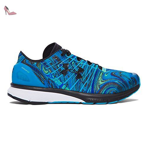 Under Armour Charged Bandit 2 Psychadelic Chaussures de Course pour Homme,  blau / grün /