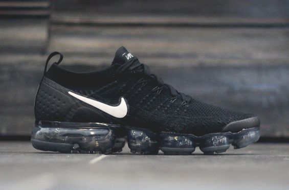 The Nike Air VaporMax 2 In Black And Dark Grey Releases This