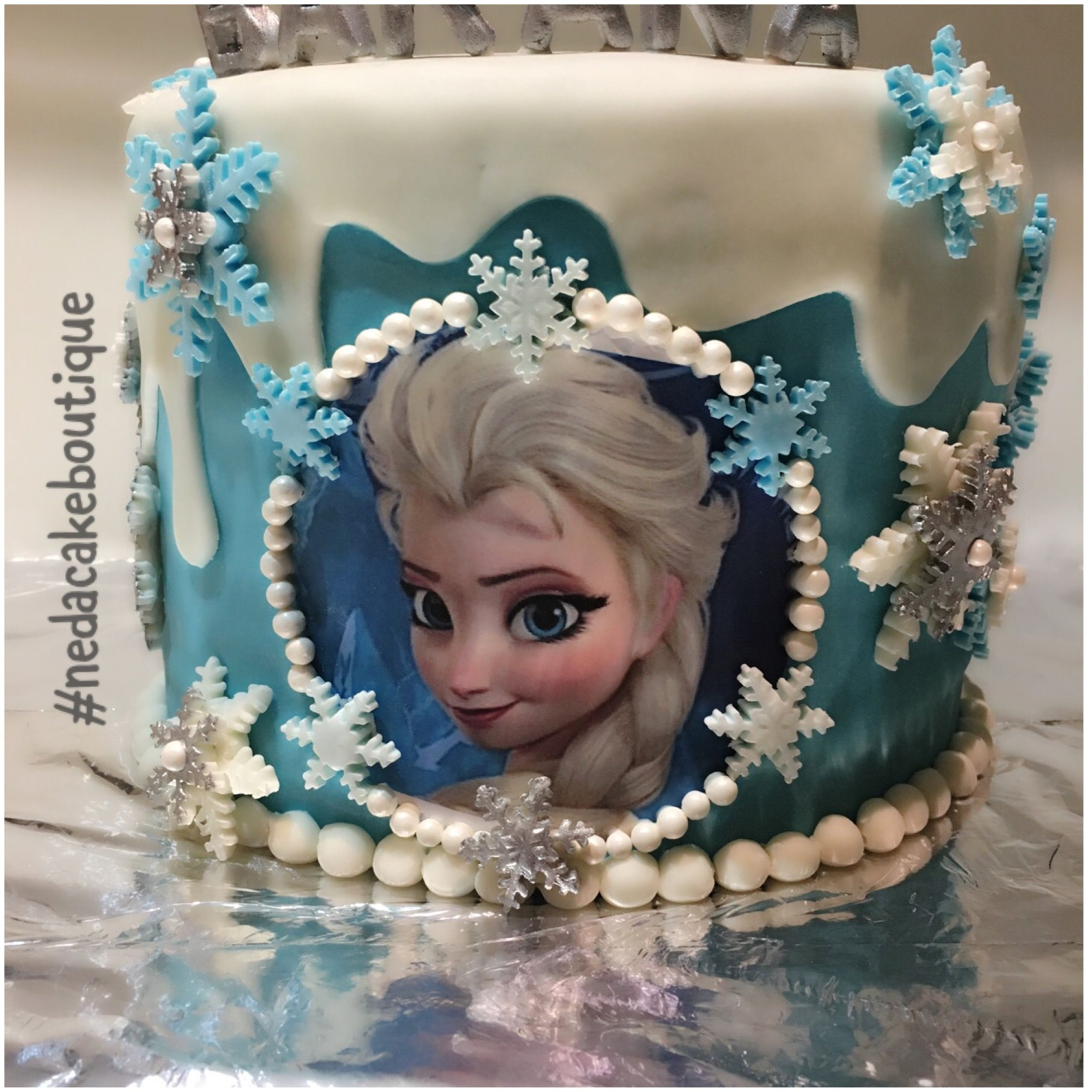 Frozen #party #fondant#baby#cake#rainbow#color#birthday#first