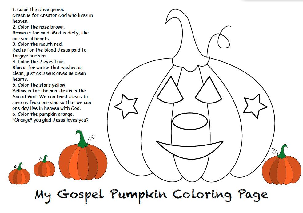 Happy Halloween Halloween Sunday School Pumpkin Coloring Pages Halloween Coloring Pages