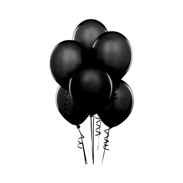 1 Balloon Black Png Birthday Balloons Pictures Happy Birthday Balloons Happy Birthday Clip Art