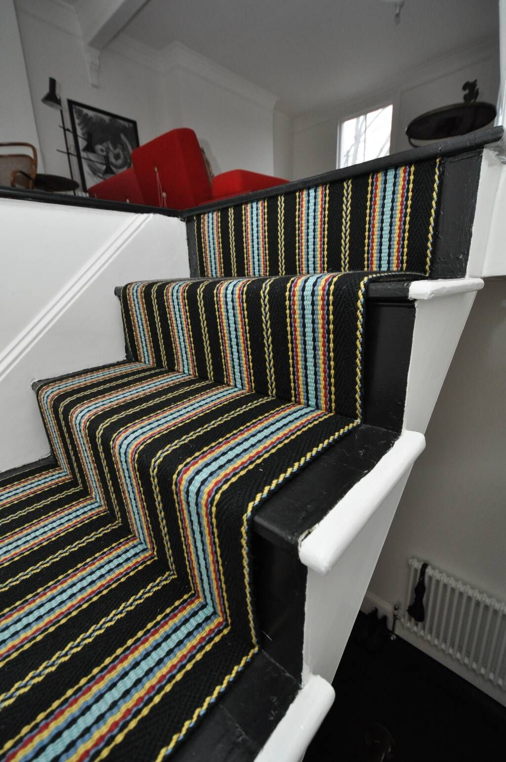 Best 2 37 Flatweave Stair Runners Off The Loom Ridley 6 640 x 480