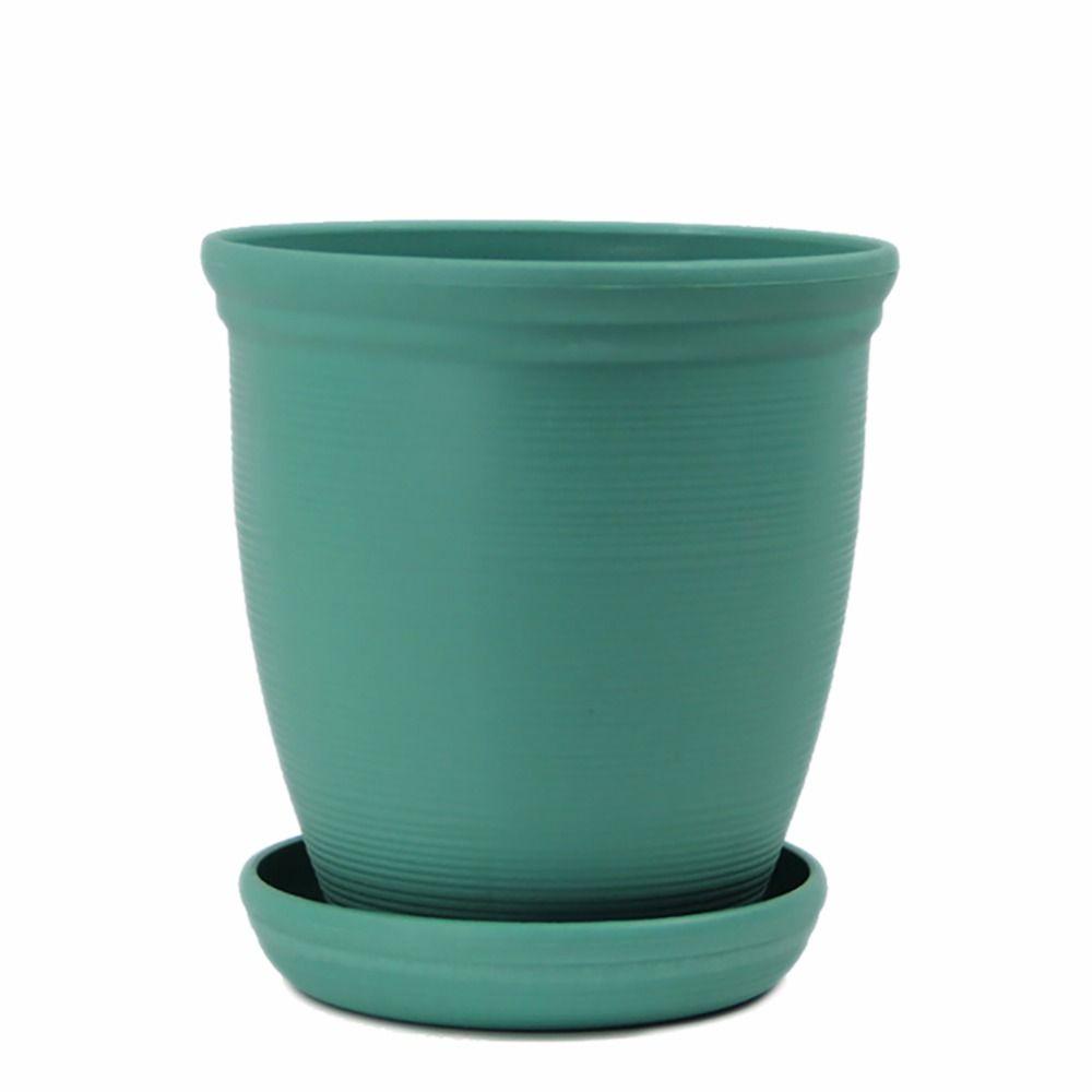 Large Environmental Platics Ceramic Roman Style Planter Resin High