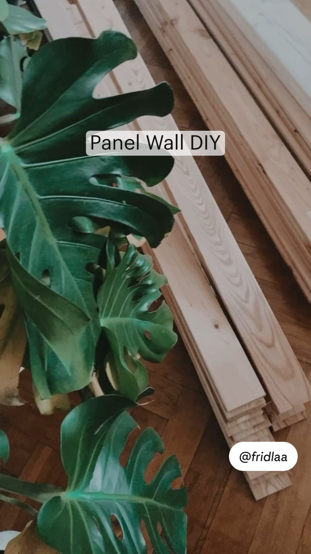 Panel Wall DIY