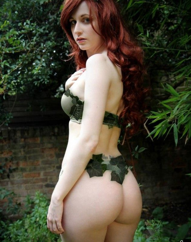 Poison ivy cosplay porn