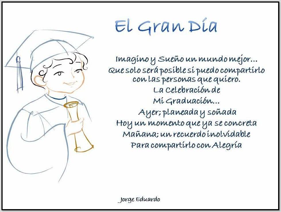Frases Cortas De Graduacion De Preescolar Graduación