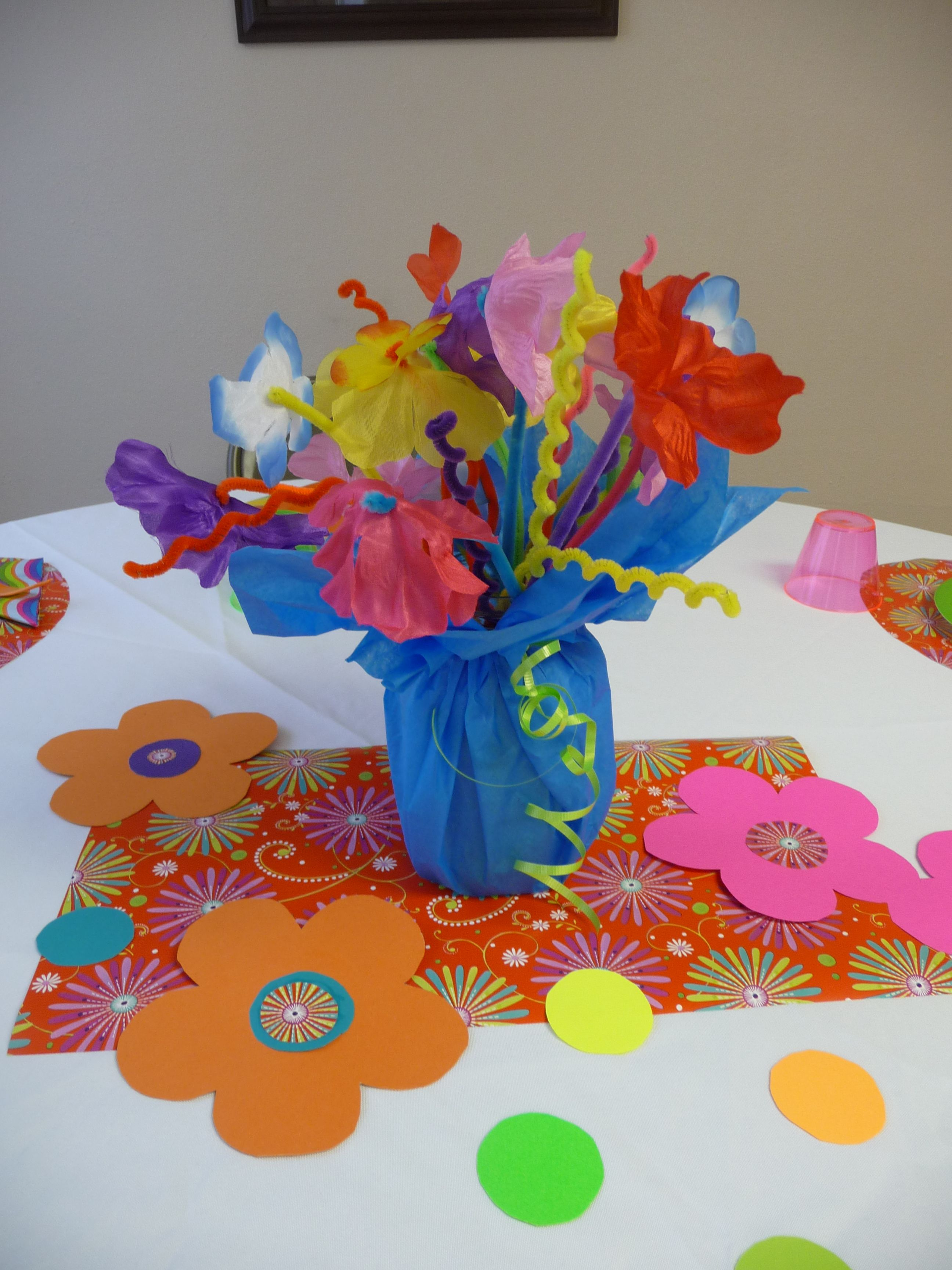 Pin By Joyful Abundant Life On Holidays And Special Occassions Kids Party Centerpieces Fun Kids Party Activity Day Girls