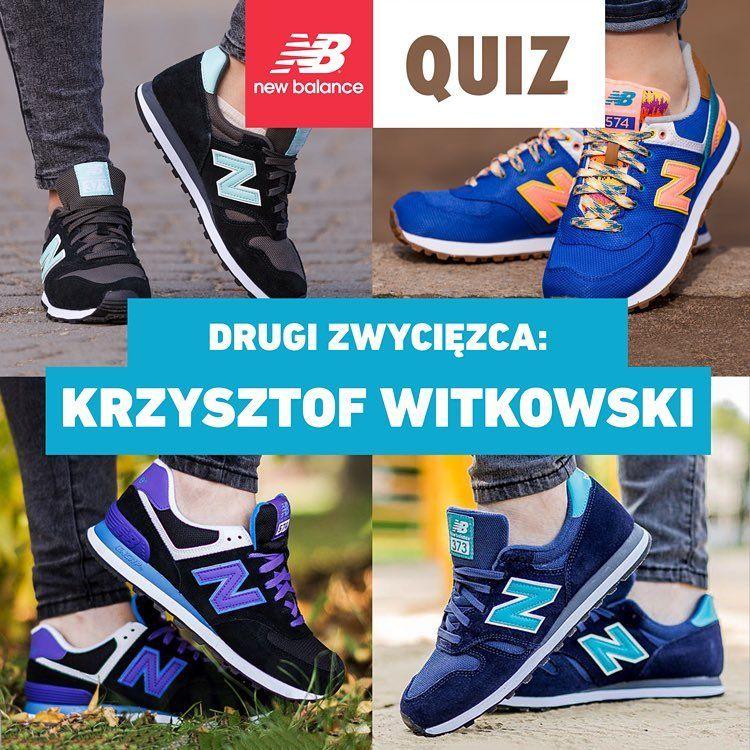 Wsrod Osob Ktore Wczoraj Wziely Udzial W Naszym Quizie I Poprawnie Odpowiedzialy Na Pytania Wylosowalismy Kolej New Balance Asics Sneaker New Balance Sneaker