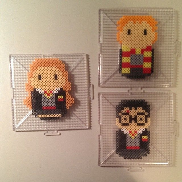 harry potter characters hama beads by nostalgiaperler. Black Bedroom Furniture Sets. Home Design Ideas