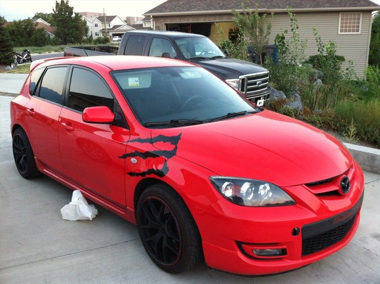 One Of The Cars I Want Its A Mazda 3 Hatchback 2007