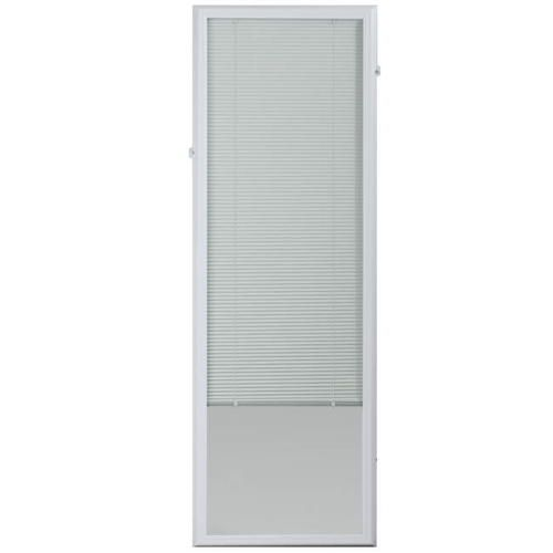 Odl Encapsulated Add On Aluminum Door Blind 22 X 64 At Menards Odl Reg Encapsulated Add On Aluminum Door Blind 22 X 64 Blinds Door Blinds Shades Blinds