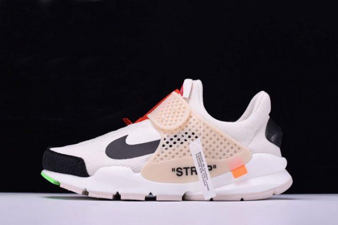 x Nike La Nike Sock Dart White