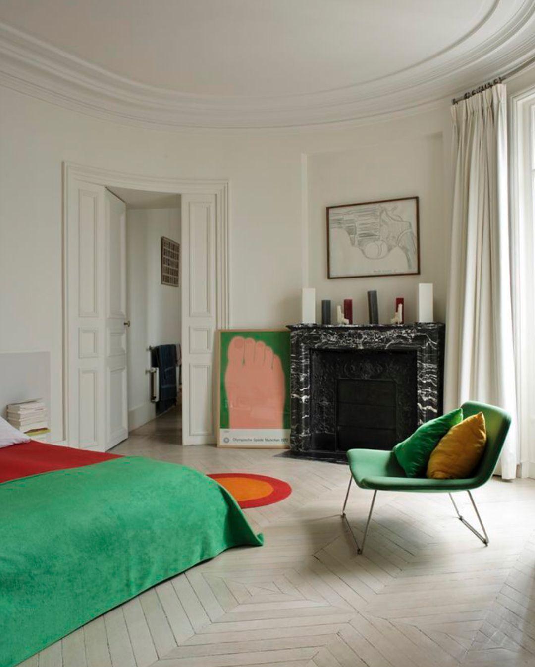 The Retro Stylish Renovation Of Rca Studio By Anderson Design Studio Bedroom Interior Home Bedroom House Interior