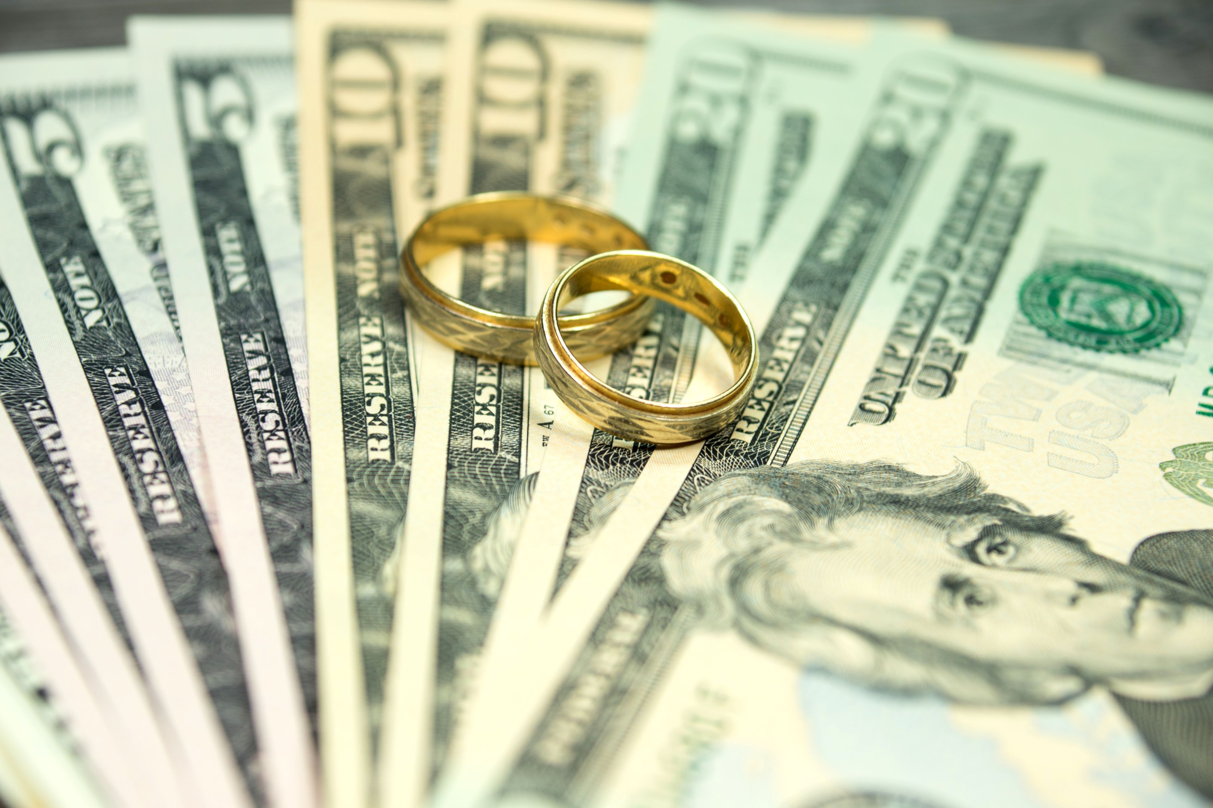 Weddings come with a big price tag. Here's how couples
