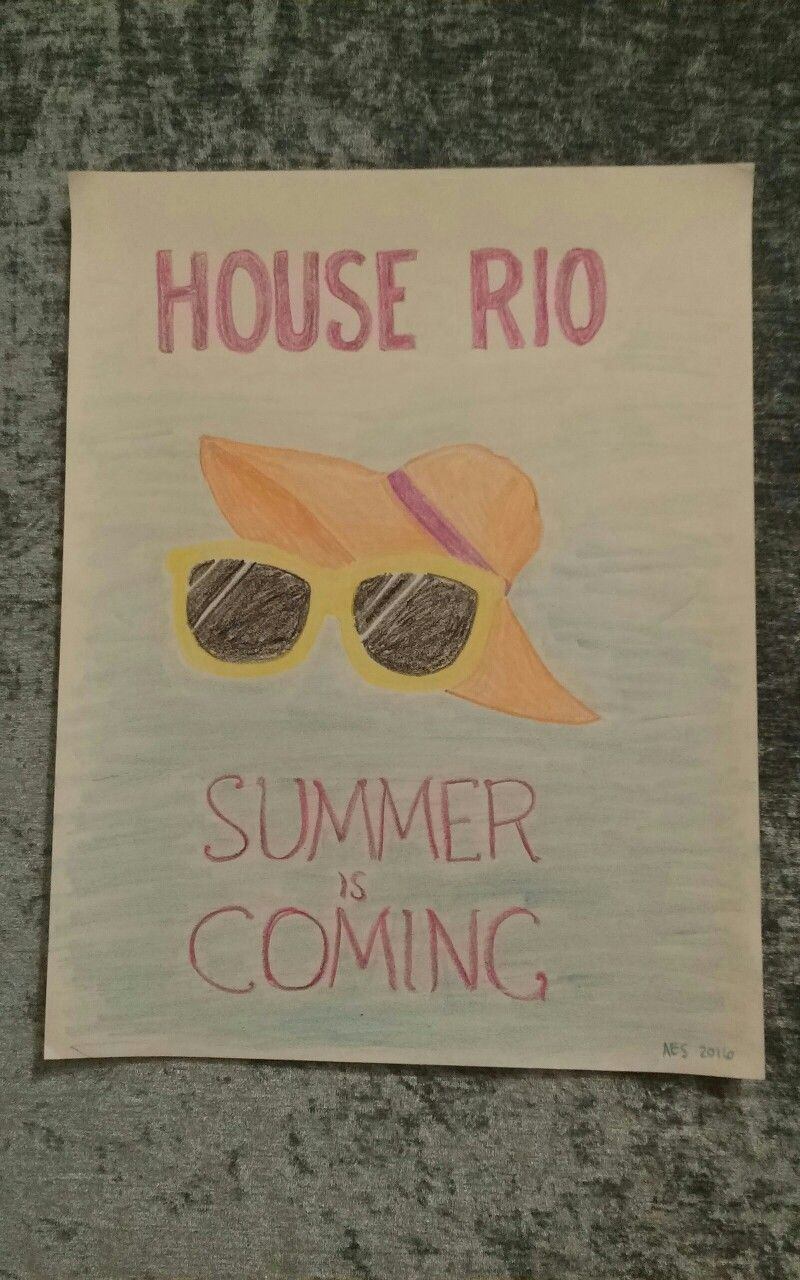 Game of Thrones fan art for my apartment building... Somebody stole it from the community bulletin board after two days. Flattered, I guess?