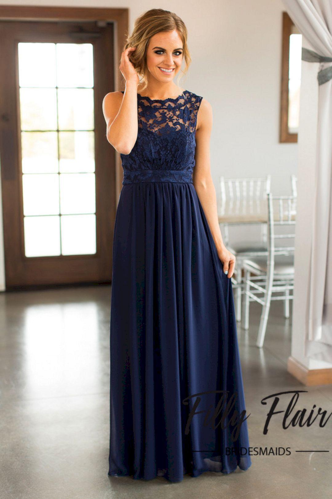 Long Dresses for Bridesmaids Ideas 2