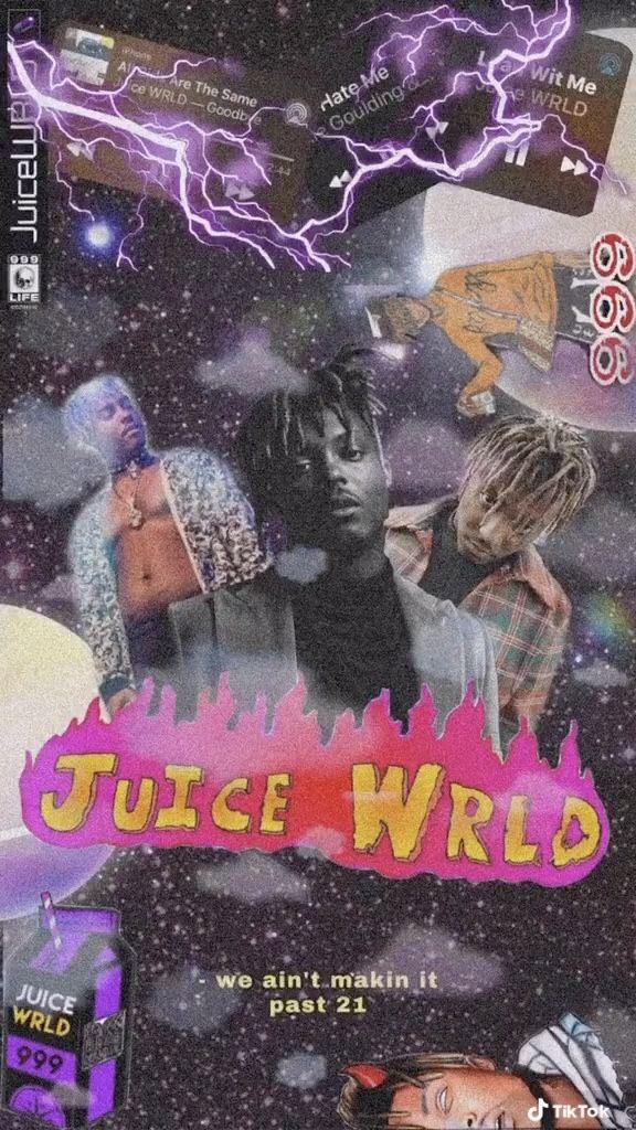juice wrld in 2020 Edgy wallpaper, Rap wallpaper, Rapper