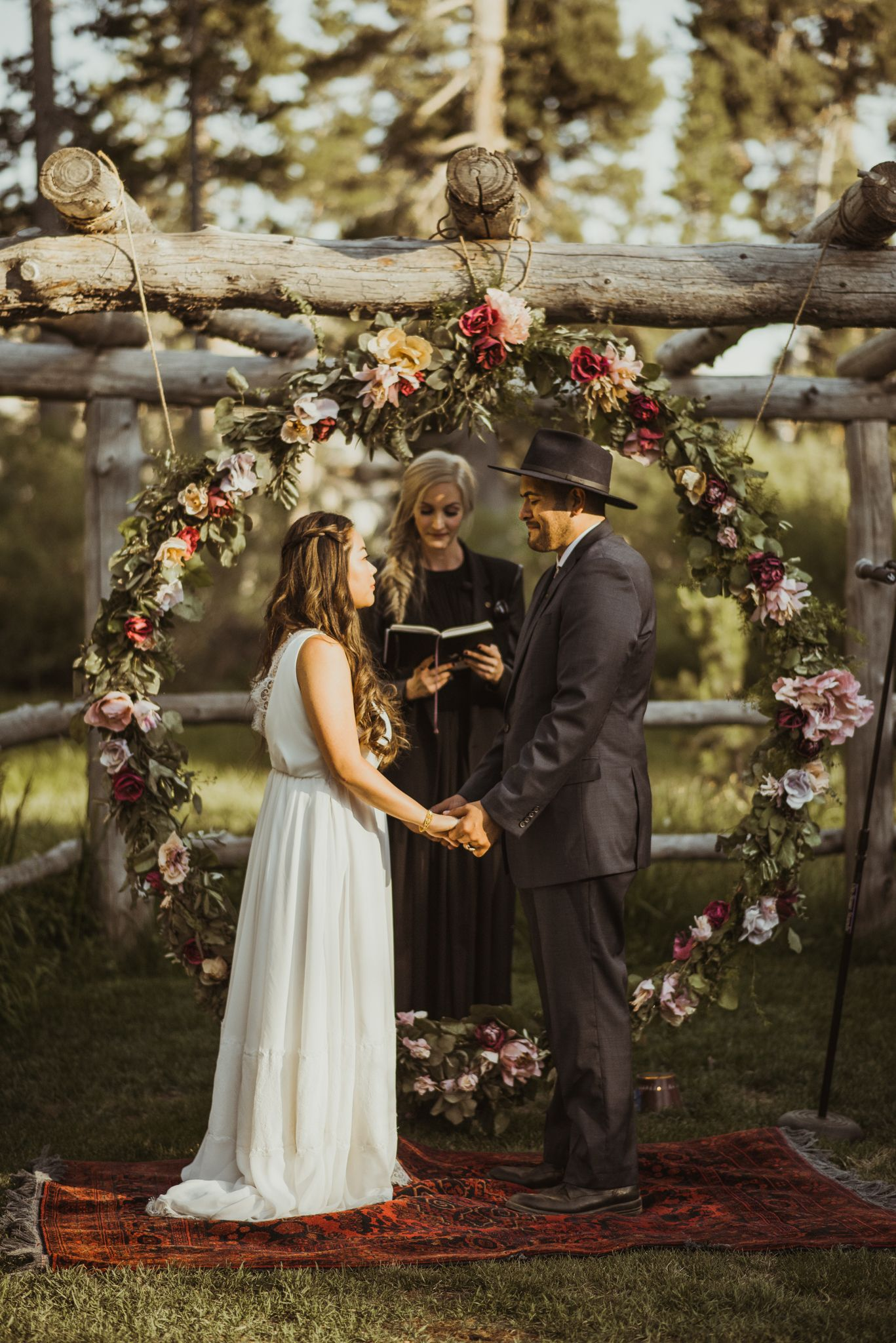 Destination Cabin Wedding, El Dorado National Forest
